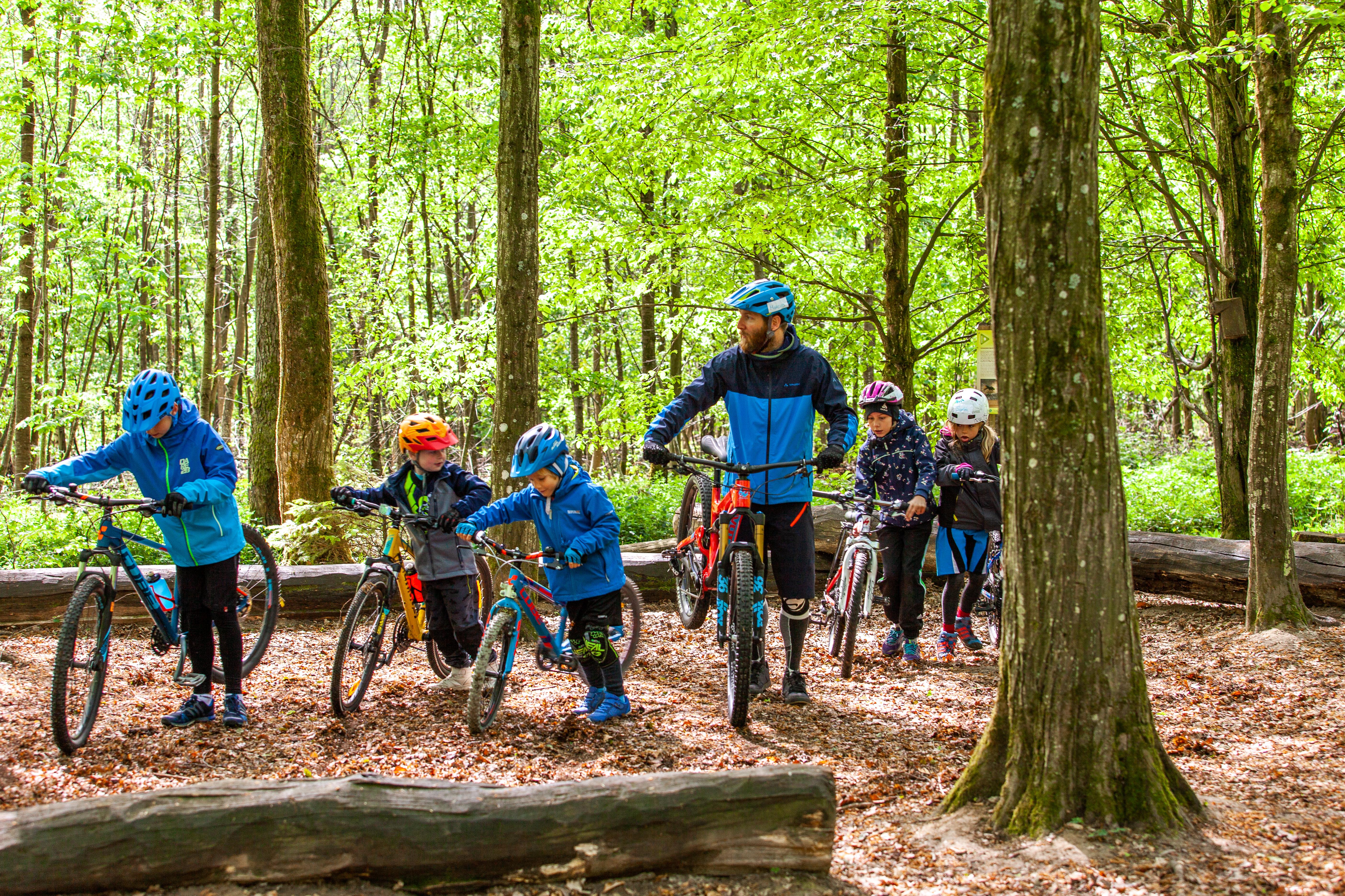 Kids on Trails