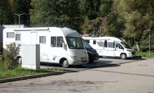 Wohnmobilstellplätze an der Siebentäler Therme Bad Herrenalb