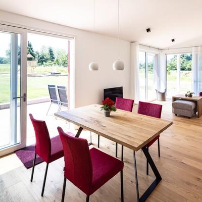 Ferienwohnung Wohn- und Essbereich