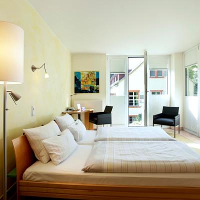 Zimmer im Hotel Watthalden