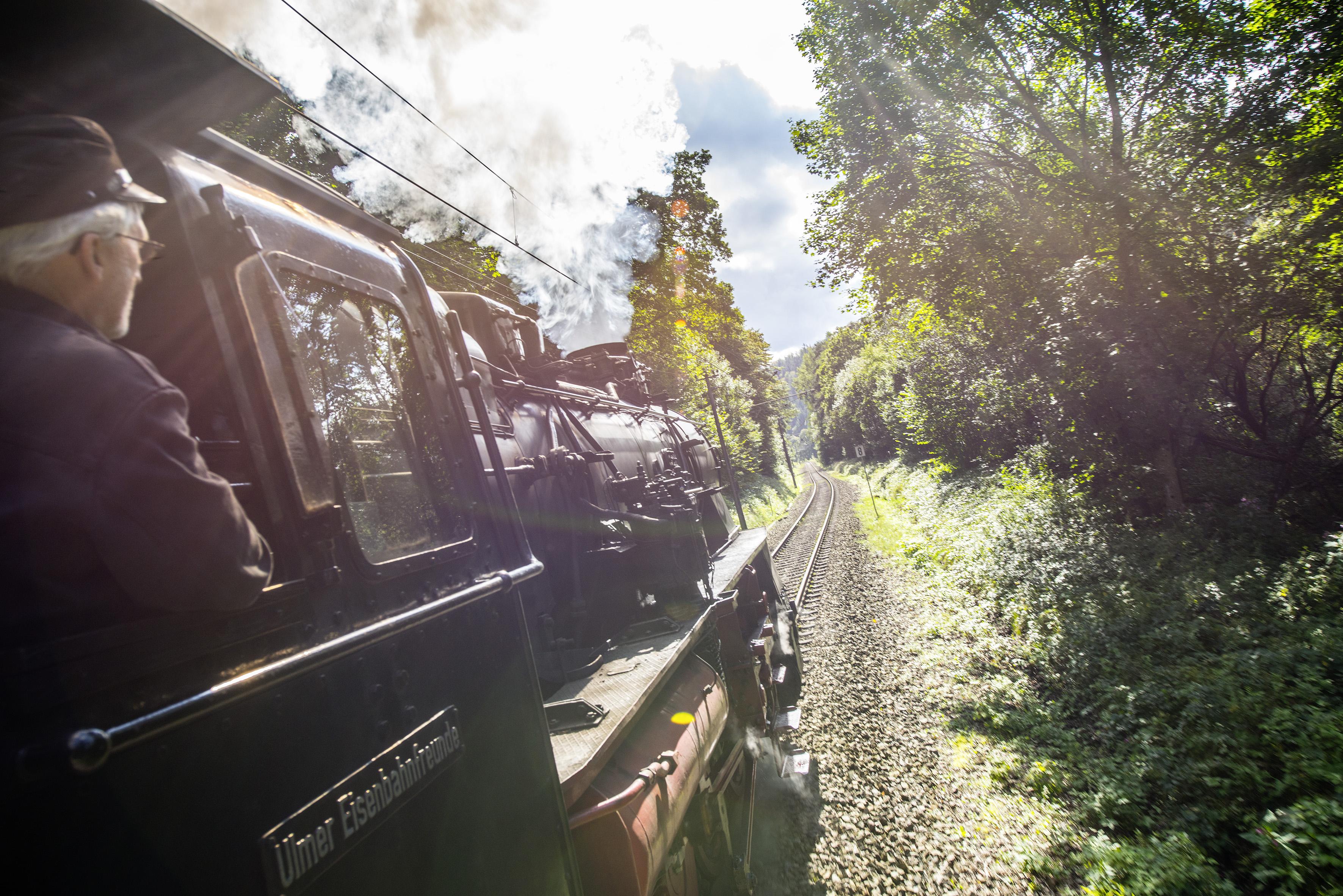 Unterwegs mit der Albtalbahn